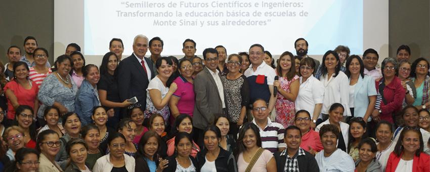 ESPOL, Rotarios y Ministerio de Educación capacitan a profesores de áreas vulnerables