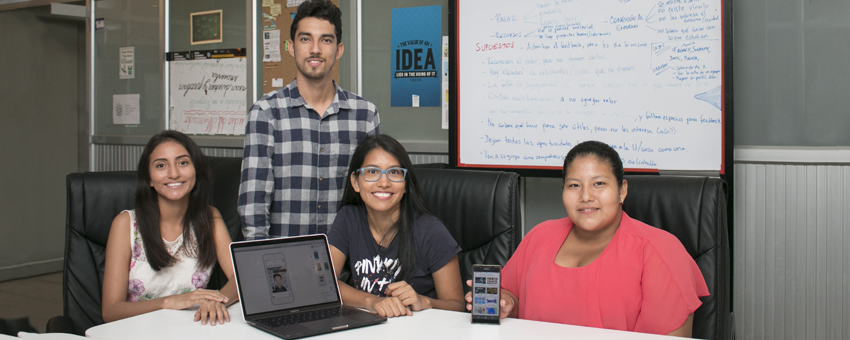 Estudiantes politécnicos crearon una app para cuidadores de pacientes con síndrome de Asperger