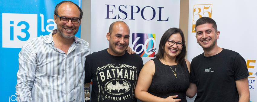 ESPOL suma acciones enfocadas en incentivar la cultura de innovación en Guayaquil