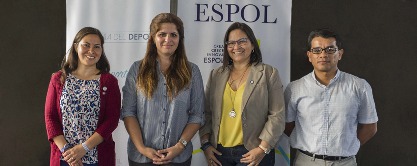 Directivos de la ESPOL y de la Secretaría del Deporte suscribieron un convenio marco de cooperación