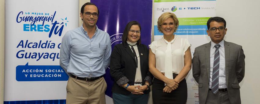 Entrega de 12.000 nuevas licencias educativas gratuitas a la ESPOL