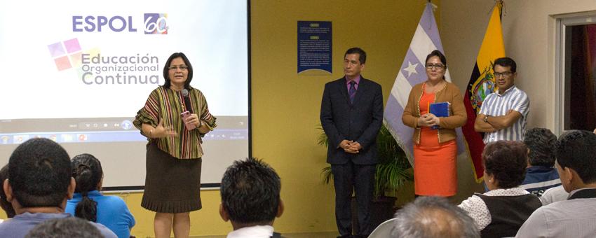 Inicio de clases del Programa de Educación Inconclusa en ESPOL