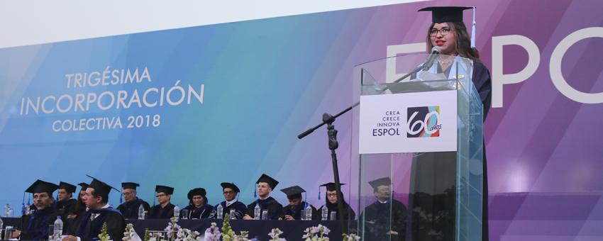 ESPOL graduó a 1.400 nuevos profesionales