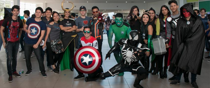 1176 nuevos politécnicos fueron recibidos con la temática de Avengers