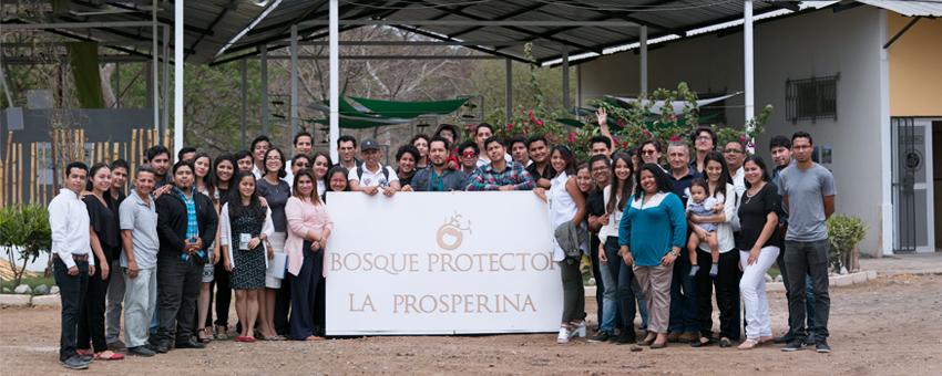 ESPOL inaugura la primera fase del proyecto Bosque Protector La Prosperina