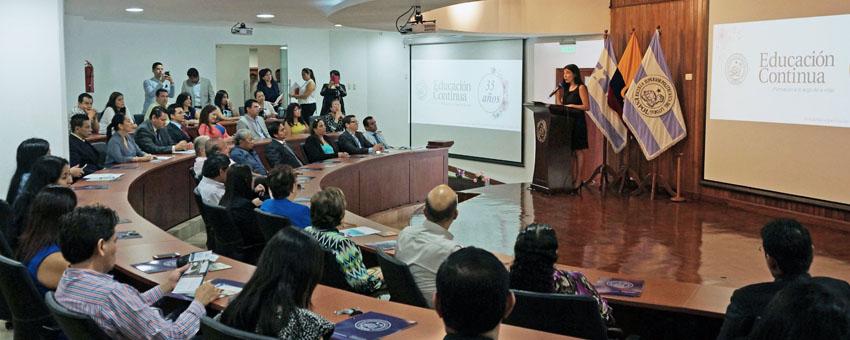 El CEC de la ESPOL conmemora sus 35 años de vida institucional