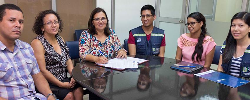 El Centro Internacional del Pacífico para la Reducción de Riesgos de Desastres, de ESPOL, desarrollará el proyecto Resclima Durán