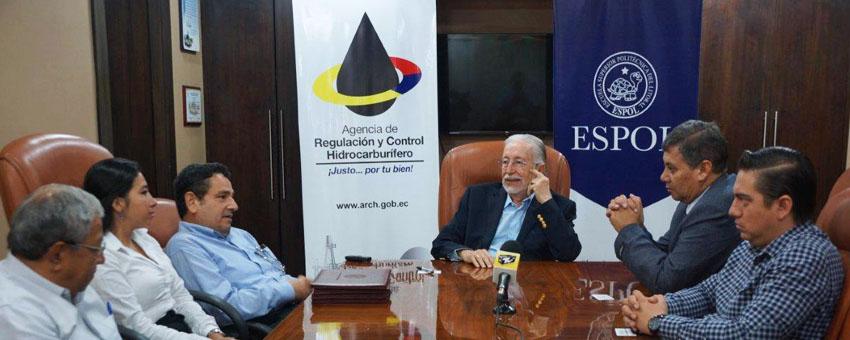 ESPOL y ARCH fomentan el desarrollo del sector hidrocarburífero