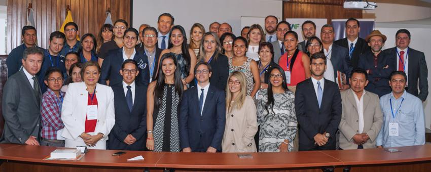 ESPOL y CAF organizaron el Primer Encuentro Nacional de Egresados en Gobernabilidad y Liderazgo de Ecuador