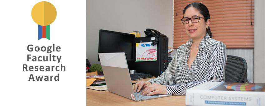 Cristina Abad, profesora de ESPOL recibe por segunda ocasión el Google Faculty Research Award