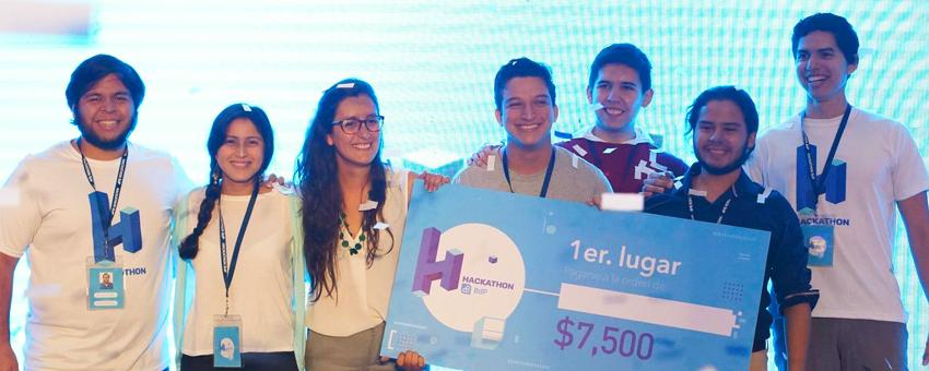 Politécnicos ganan primera edición de Hackathon BDP