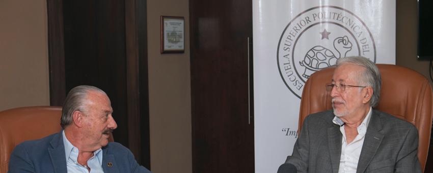 ESPOL amplia convenio con la Benemérita Sociedad Protectora de la Infancia