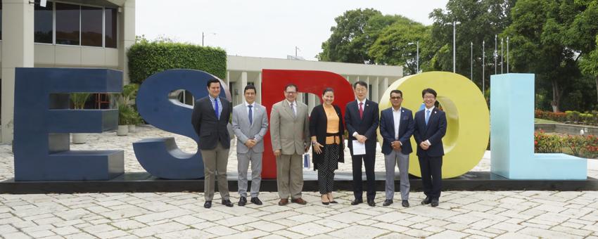 ESPOL, sede oficial del Instituto King Sejong