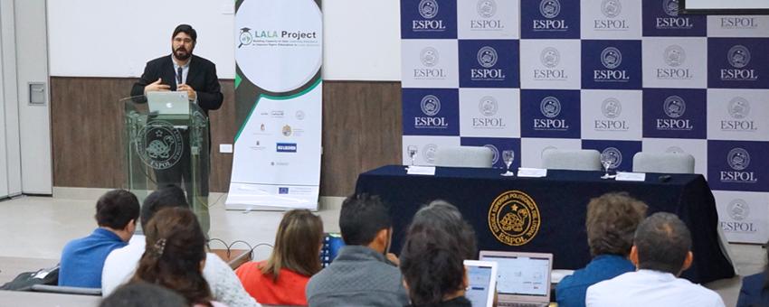 I Conferencia sobre Analíticas de Aprendizaje en Latinoamérica se realiza en ESPOL