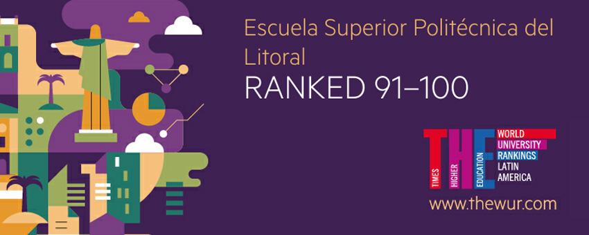 ESPOL entre las mejores universidades de América Latina, según Times Higher Education