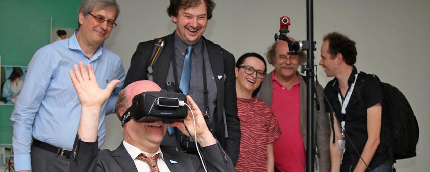 Científicos de la Universidad de Gante recorrieron el campus de la ESPOL