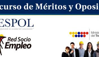 concurso de meritos y oposión ESPOL