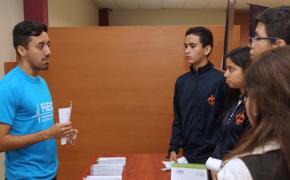 Estudiantes de colegio visitaron EXPO FIEC