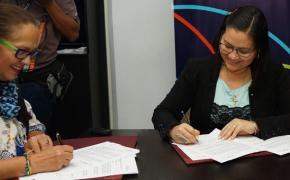 Directivos de ESPOL y MIES suscribieron un convenio marco de cooperación interinstitucional