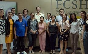 Académicos y empresarios conocieron los avances del Programa de fortalecimiento de desarrollo sostenible que la ESPOL desarrolla en el recinto La Unión