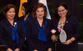Rectora de ESPOL recibe homenaje de ACORVOL por destacarse en ámbito educativo