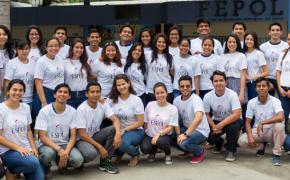 ESPOL da la mano, una campaña que busca poner sonrisas en los rostros de niños guayaquileños