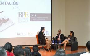 Los retos fiscales de Ecuador en los próximos años se debaten en la ESPOL
