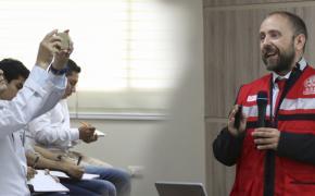 Experto español dictó seminario de Reducción de Riesgo de Desastres