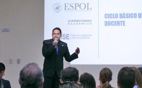 Profesores de la ESPOL culminan Ciclo Básico de Formación Docente