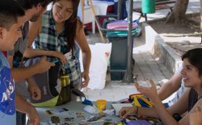Feria de Mininegocios en la ESPOL